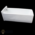Tub: VS Toys White Resin Bathtub