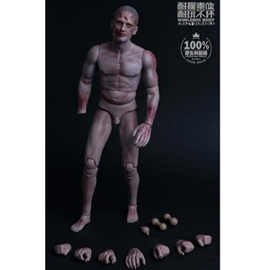 "Boxed Figure: World Box Durable ""Zombie"" Body (WB-AT022)"