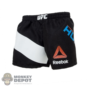 Shorts: World Box Black UFC Shorts