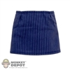 Skirt: Wolf King Pinstriped Short Skirt