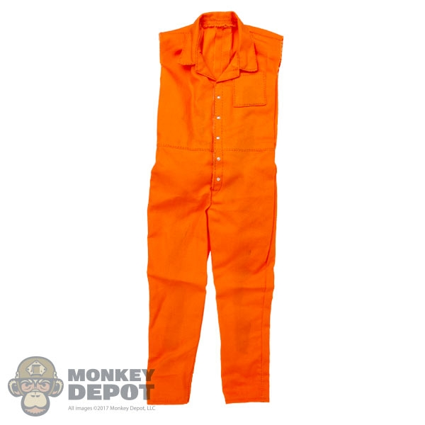 3bebb9a4796 Monkey Depot - Outfit  Wolf King Sleeveless Prison Jumpsuit