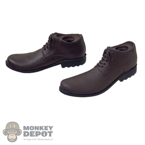 Boots: Wolf King Mens Molded Brown Boots