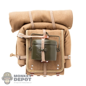 Pack: War Story Japanese Army Backpack w/Tent, Blanket & Mess Kit