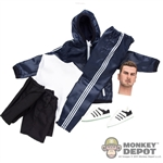Clothing Set: Wild Toys Windbreaker Set (Navy Blue) (WT-22D)