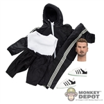 Clothing Set: Wild Toys Windbreaker Set (Black) (WT-22A)