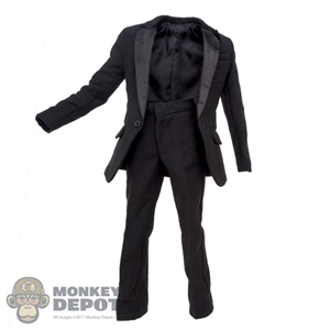 Suit: Wild Toys Black Tuxedo Jacket & Pants