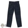 Jeans: XRF Mens Dark Blue Jeans