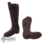 Boots: Xensation Mens Tall Brown Molded Boots