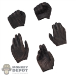 Hands: Xensation Mens Brown Molded Hand Set