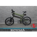 Bicycle: X Toys 1/6 Folding Bike - Green (XT-009D)
