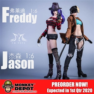 Character Set: YM Toys Freddy or Jason