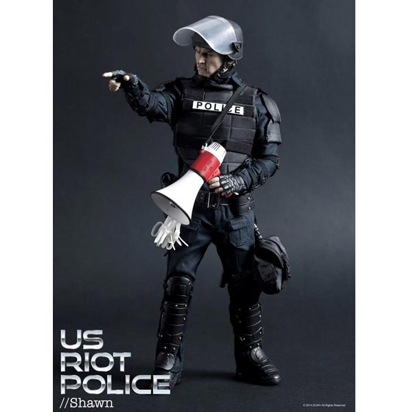 Monkey Depot - Boxed Figure: ZC World - Police Tactical