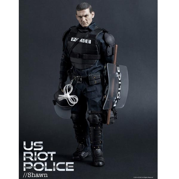 Monkey Depot - Boxed Figure: ZC World - US Riot Police