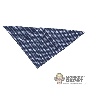 Scarf: ZC World Dark Blue Pattern Bandana