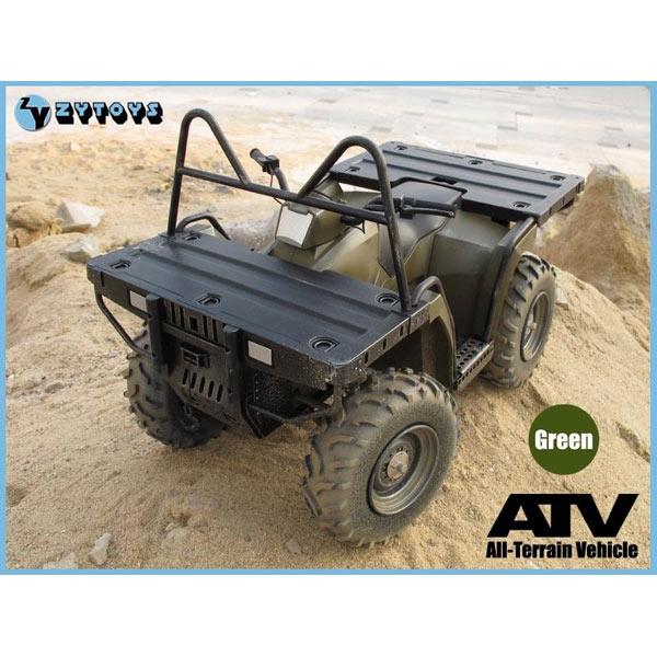 Monkey Depot - ZY Toys 1/6 ATV All Terrain Vehicle - GREEN