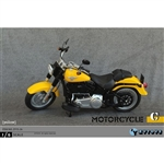 Boxed Vehicle: ZY Toys 1/6 Motorcycle In Yellow (ZY-15-26C)