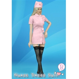 Uniform: ZY Toys Pink Nurse Uniform (ZY-16-18B)