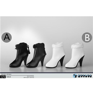 Shoes: ZY Toys Ankle Boots w/Fur (ZY-1012)