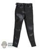 Pants: ZY Toys Mens Black Leather Pants
