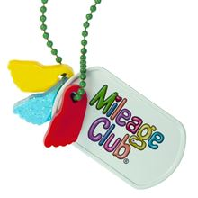 Mileage Club Dog Tags