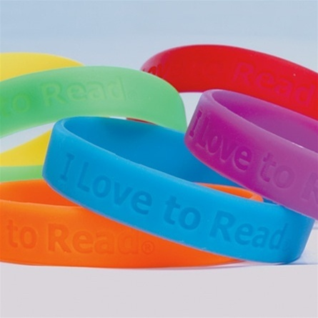 I Hearts To ReadTM Wristbands