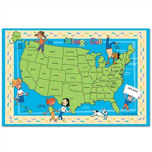 Mileage Club - Map of USA
