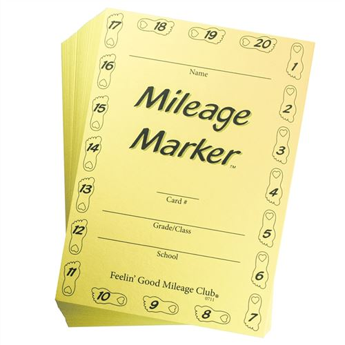 Mileage Club® - Mileage Marker™ Cards (I)