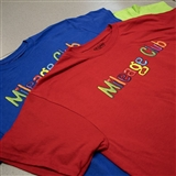 Customize Blue Mileage Club T-Shirt