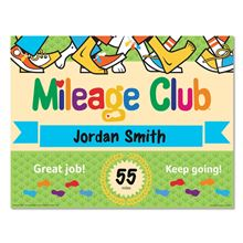 Walking Club Incentives - Mileage Club Certificates