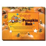 Youth Running Clubs - Pumpkin Run Certificates