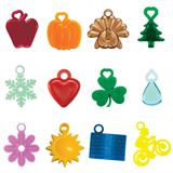 12 awards for months September through August. 25 each of Apple, Pumpkin, Tom Turkey, Twinkle Tree, Snowflake, Valentine, Shamrock, Raindrop, Flower, Sun, Flag and Biker.