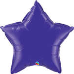 Quartz Purple Star Foil
