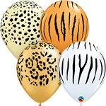 Qualatex 12568 SAFARI ASSORTMENT LATEX