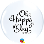 Simply Oh Happy Day Qualatex Latex