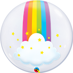 Qualatex 13036 Bubble Rainbow Clouds