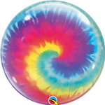 Qualatex 13084 Single Bubble Tie Dye Swirls