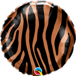 "Qualatex 13334 18"" Tiger Stripes Foil"