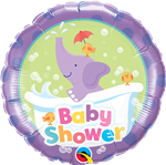 Foil Baby Shower Elephant