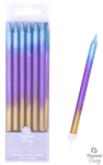 Qualatex 15829 rainbow ombre long candles