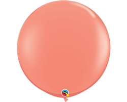 3ft Round Coral Latex
