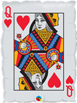 Qualatex 16310 Queen of Hearts Ace of Spades