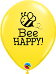 Qualatex 17587 Bee Happy Latex
