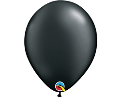 Round Pearl Onyx Black Retail Latex