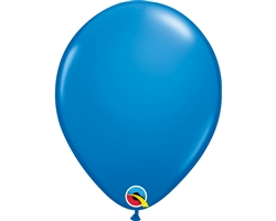 "11"" RETAIL LATEX DARK BLUE (6 BAGS OF 6 BALLOONS PER BAG)"