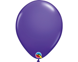 "11"" RETAIL LATEX PURPLE VIOLET (6 BAGS OF 6 BALLOONS PER BAG)"