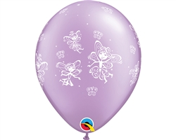 "11"" RETAIL LATEX FAIRIES & BUTTERFLIES (6 BAGS OF 6 BALLOONS PER BAG)"