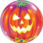 "22"" SINGLE BUBBLE JACK O'LANTERN"