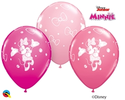 Qualatex 18685 Minnie Mouse Latex Balloons Ireland