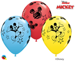 Qualatex 18688 Mickey Mouse Latex Balloons Ireland