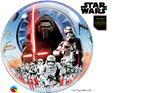 "22"" DISNEY BUBBLE STAR WARS THE FORCE AWAKENS"